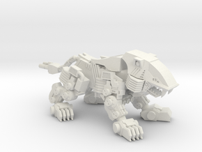 RoboLion in White Strong & Flexible