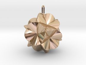 Pendant-c-6-5-30-45 in 14k Rose Gold Plated