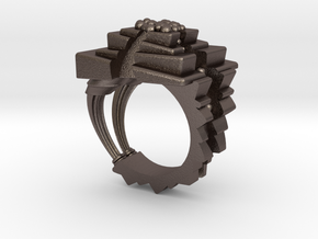 ArchitectureRing_Size8 in Stainless Steel
