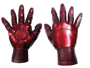 Iron Man Gauntlet replica in White Strong & Flexible