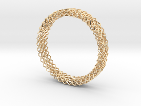 Octet Bangle in 14k Gold Plated