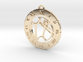 Vanessa - Pendant in 14k Gold Plated