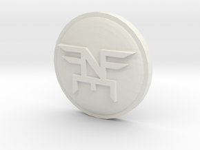 Neff Coin in White Strong & Flexible