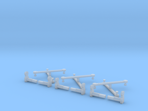 Rowa/MRC 2-8-8-2 Eccentric Rods & Parts N Scale  in Frosted Extreme Detail