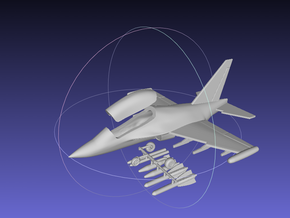 1/144 Yak-130 in White Strong & Flexible Polished