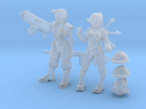 Test Figures in Frosted Ultra Detail
