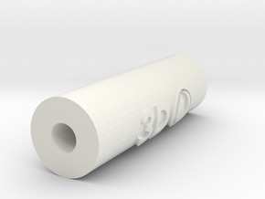 Silencer - 3Dponics Drip Hydroponics in White Strong & Flexible
