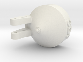 Floater Nozzle - 3Dponics  in White Strong & Flexible
