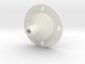 Drip Nozzle (3/8 Inch, 4 Holes) - 3Dponics  in White Strong & Flexible