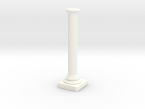 Column 003 in White Strong & Flexible Polished