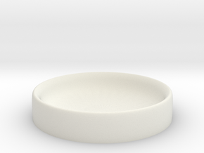 Dice Bowl in White Strong & Flexible