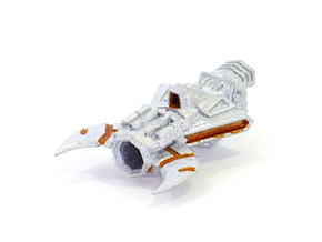 Crash Cannon in White Strong & Flexible