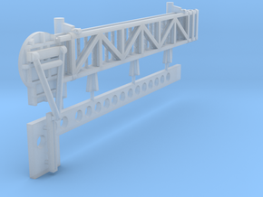 1:72 scale Walkway - Port - Long in Frosted Ultra Detail