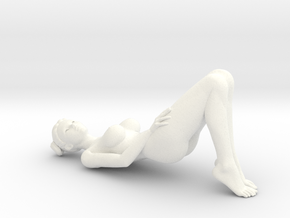 New Sexy Girl-010 scale 1/18 Passed in White Strong & Flexible Polished