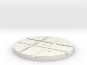 T-165-wagon-turntable-60d-100-1a in White Strong & Flexible