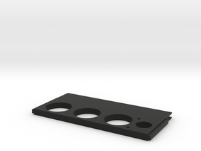 Dimmerscreen Centre plate in Black Strong & Flexible