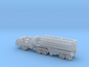 S-400 Missile with Transport 6mm in Frosted Ultra Detail