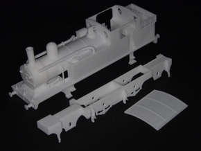 G.E.R M15 class (later LNER F4) 2.4.2 tank loco in White Strong & Flexible