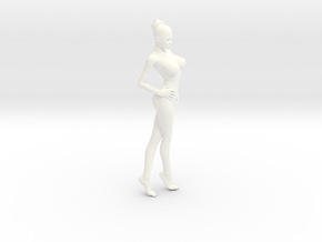 New Girl-006 scale 1/18 Passed in White Strong & Flexible Polished