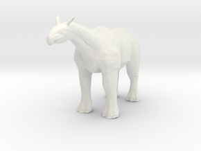 Paraceratherium 1 40(MEST 2015) in White Strong & Flexible