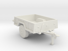 M101  trailer for humvee in White Strong & Flexible