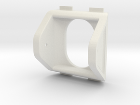 QAV250 FPV Camera Mount (25x25mm) in White Strong & Flexible