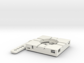 T-9-wagon-turntable-24d-100-plus-base-flat-1a in White Strong & Flexible
