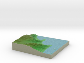 Terrafab generated model Thu Jun 04 2015 10:19:30  in Full Color Sandstone