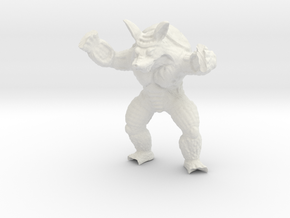 Wrath of Armadillo - Toys in White Strong & Flexible