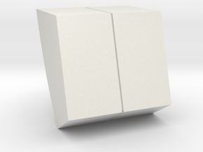 M10A-left Wall Detail in White Strong & Flexible