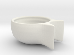 Egg-holder-150611a in White Strong & Flexible