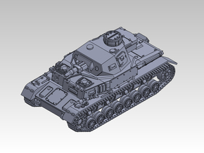 1/144 PzKpfw IV ausf.E in Frosted Ultra Detail