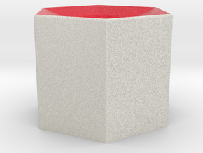 LuminOrb 1.1 - Column Stand in Full Color Sandstone
