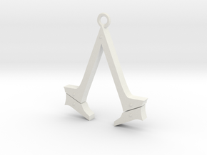 Assassin's Creed Syndicate Logo in White Strong & Flexible