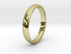 Ring Size 9 1I2 smooth in 18k Gold