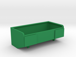 1/16 M50/51 large rear stowage bin in Green Strong & Flexible Polished
