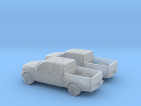 1/160 2X 2015 Ford F 150 Crew Cab in Frosted Ultra Detail