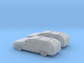 1/160 2X 1985-91 Ford Taurus Wagon in Frosted Ultra Detail