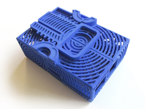 ButterPi Case in Blue Strong & Flexible Polished