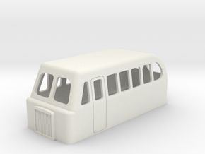 009/hon30 bus type railcar 50 alternate version  in White Strong & Flexible