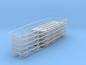 1/18 Tapered Stokes Basket (Set of 5) in Frosted Ultra Detail