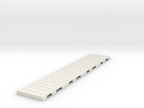 P-165stg-straight-long-wedge-1a in White Strong & Flexible