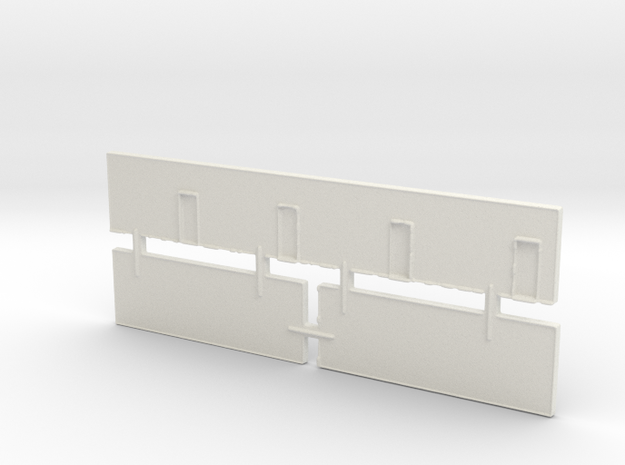 Strip Mall Walls 3A Z Scale