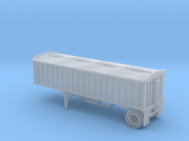N-Scale CPS/Manac Pup Grain Trailer with Tarp