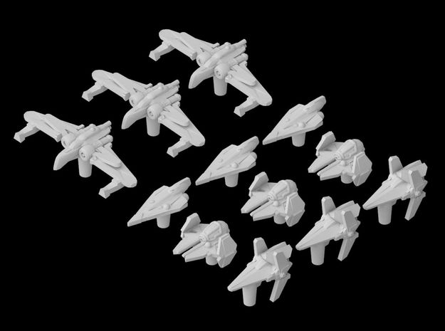(Armada) Republic Fighters Set I