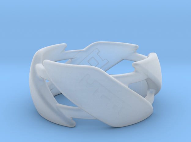 US8.5 Ring III 3d printed