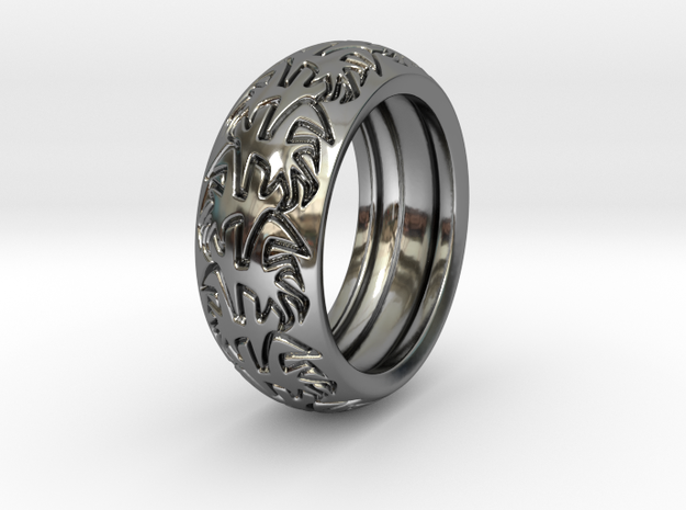 Ray B. - Ring - US 9 - 19 mm inside diameter 3d printed