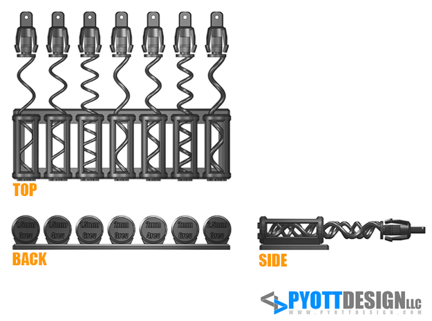 Tool Coil Spring - 01 3d printed