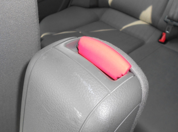 Audi A4 B6 Mittelarmlehne/Armrest lid Standart pur 3d printed Example in Coral Red Strong