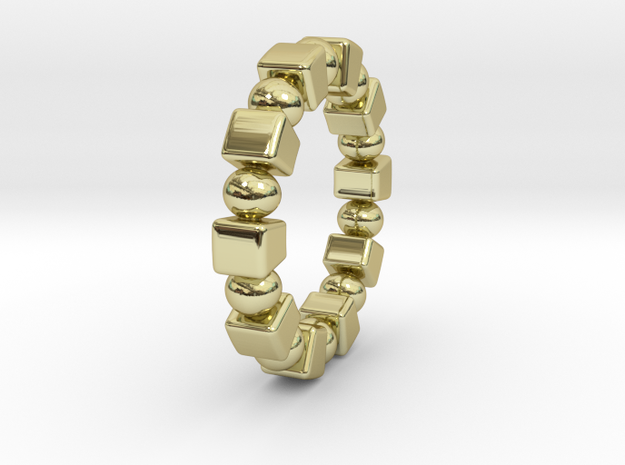 Claudette - Ring - US 9 - 19 mm inside diameter 3d printed